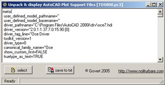 AutoCAD Support Files Unpacker